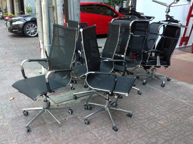 Mua ghế xoay văn phòng cũ chất lượng giá rẻ