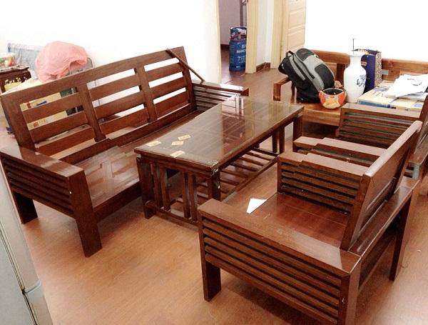 mua salon gỗ thanh lý giá rẻ tphcm