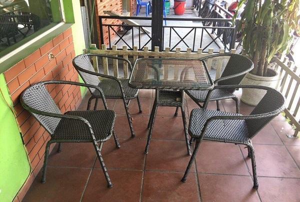 Tư vấn lựa chọn bàn ghế cafe với 10 triệu đồng