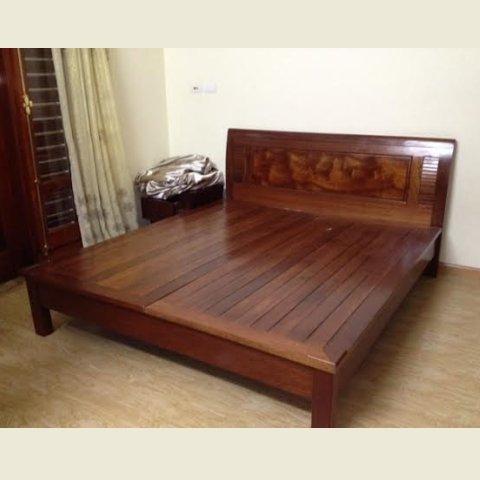 mẫu giường gỗ thanh lý hiện đại