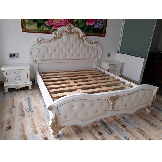 giường hoàng gia 1m8 x 2m thanh lý