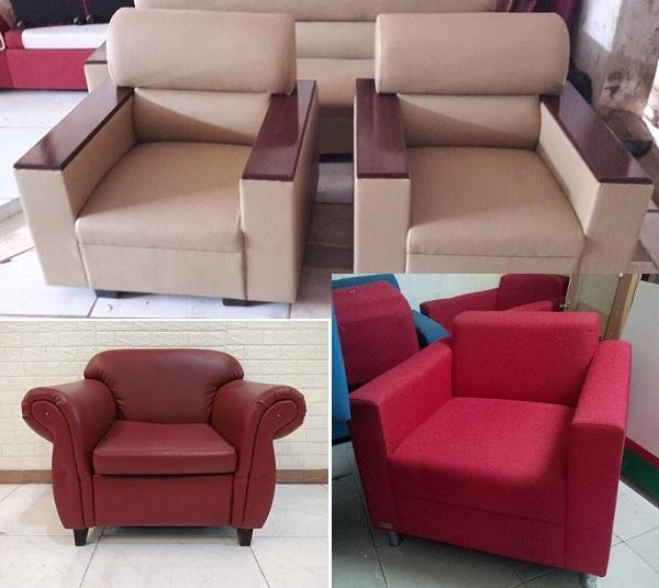 Ghế sofa đơn cafe thanh lý giá rẻ