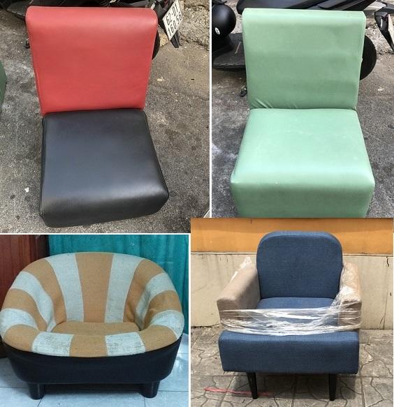 ghế sofa đơn thanh lý giá rẻ