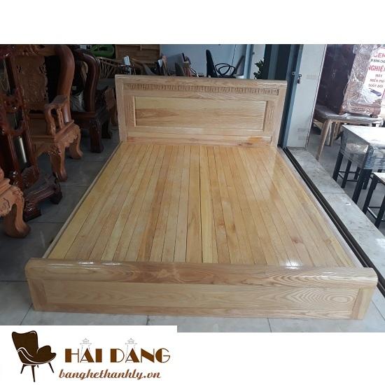 Giường phản gỗ sồi cao cấp giá rẻ