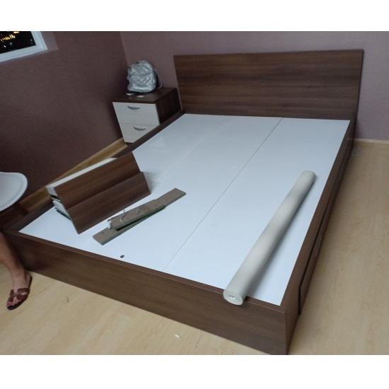 giường MDF cao cấp kiểu Nhật
